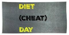 Diet Day? #1 Hand Towel