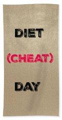 Diet Day? #2 Hand Towel