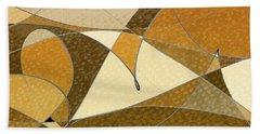 Diffusion Bath Towel by Don Gradner