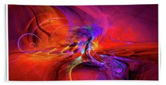 Digital Abstract Art Collection Bath Towel