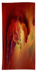 Bath Towel featuring the digital art Abstract No 12 by Robert Kernodle