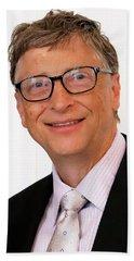 Digital Bill Gates Bath Towel