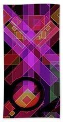 Hand Towel featuring the digital art Dimensions-18 by Lynda Lehmann