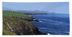 Dingle Coast Near Fahan Ireland Bath Towel