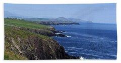Dingle Coast Near Fahan Ireland Hand Towel