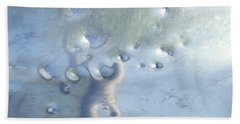 Dings In The Slide Hand Towel by Sarah Loft