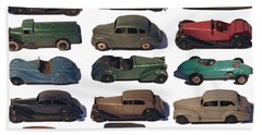 Dinky Car Park Bath Towel by John Colley