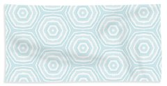 Dip In The Pool -  Pattern Art By Linda Woods Hand Towel