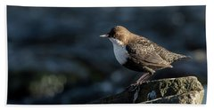 Hand Towel featuring the photograph Dipper by Torbjorn Swenelius