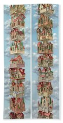 Diptych Air Castles Hand Towel