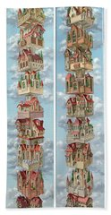 Diptych Air Castles Bath Towel