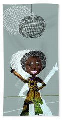 Disco Lady Hand Towel