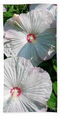 Hand Towel featuring the photograph Dish Flower by Brian Jones