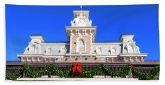 Disney Railroad Station Bath Towel
