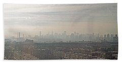 Distant City Bath Towel