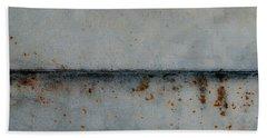 Bath Towel featuring the photograph Distant Horizon by Jani Freimann