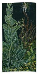 Ditchweed Fairy Mullein Bath Towel
