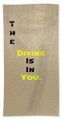 Divine #3 Hand Towel