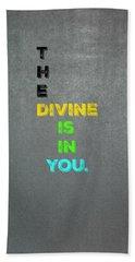 Divine #4 Hand Towel