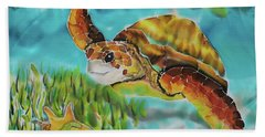 Diving Conch Hand Towel