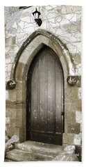 Bath Towel featuring the photograph Do-00055 Chapels Door In Morpeth Village by Digital Oil