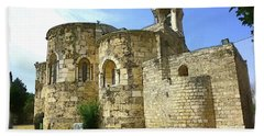 Do-00344 Church Of St John Marcus In Byblos Bath Towel by Digital Oil