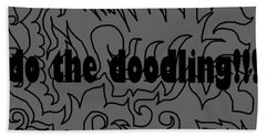 Do The Doodling Bath Towel