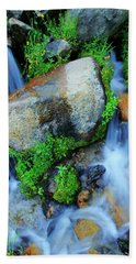 Hand Towel featuring the photograph Do You Share A Love For Streams? by Sean Sarsfield
