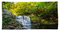Doans Falls Lower Falls Hand Towel
