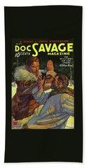 Doc Savage The Mystery On The Snow Bath Towel