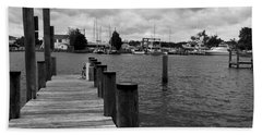 Dock Of The Bay Hand Towel