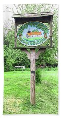Doddinghurst Village Sign Hand Towel