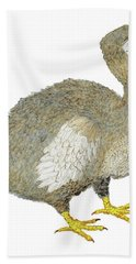 Dodo Bird Protrait Bath Towel