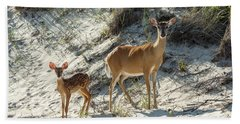 Doe And Fawn Hand Towel