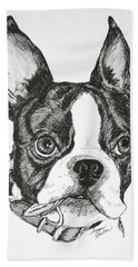 Dog Tags Bath Towel