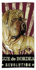 Dogue De Bordeaux Revolution Hand Towel