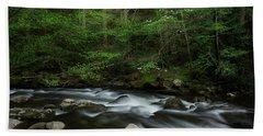 Dogwood Along The River Hand Towel