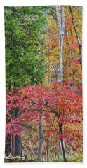Dogwood And Cedar Bath Towel