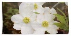 Dogwood Blossom Trio Bath Towel