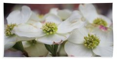 Bath Towel featuring the photograph Dogwood Flowers by John S