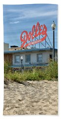 Hand Towel featuring the photograph Dolles From The Beach - Rehoboth Beach Delaware by Brendan Reals