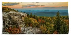 Dolly Sods Autumn Sundown Hand Towel
