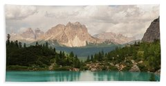 Bath Towel featuring the photograph Dolomiti View I by Yuri Santin