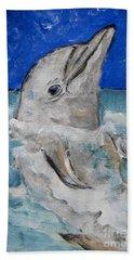 Dolphin Hand Towel