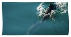 Dolphing Story Bath Towel