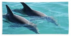 Dolphins Bath Towel