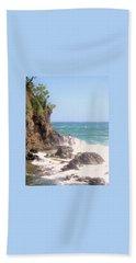 Bath Towel featuring the photograph Dominica North Atlantic Coast by Ian  MacDonald