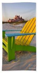 Don Cesar And Beach Chair Hand Towel