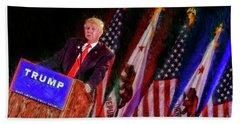 Donald Trump Make America Great Rally Bath Towel