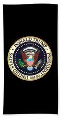 Donald Trump President Seal Bath Towel